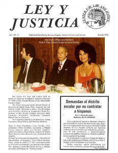 Ley y Justice news article