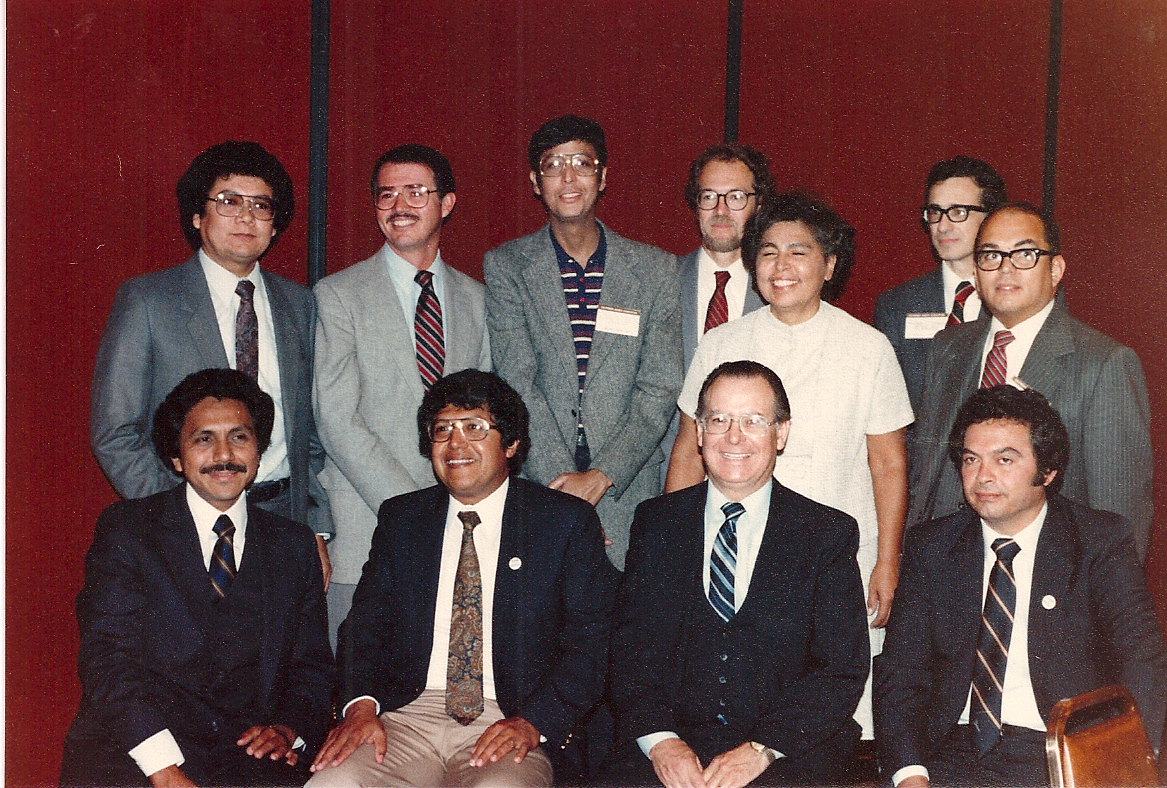 older photo of people that might be LACLJ staff
