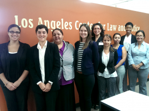 LACLJ community care advocacy team pic