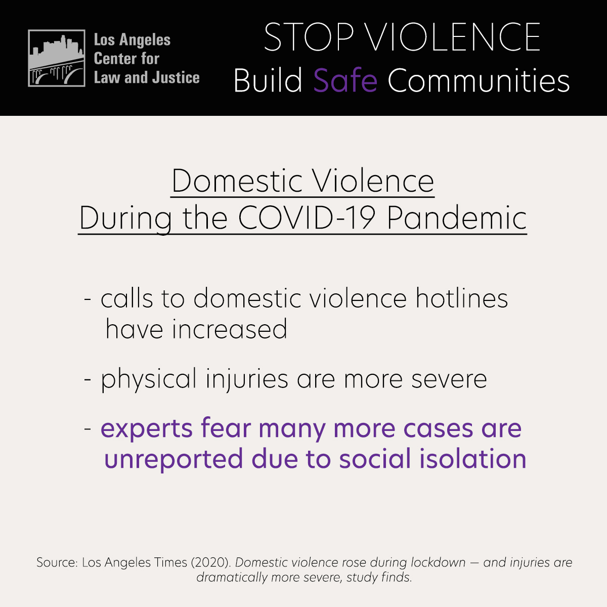 Domestic Violence during the COVID-19 Pandemic