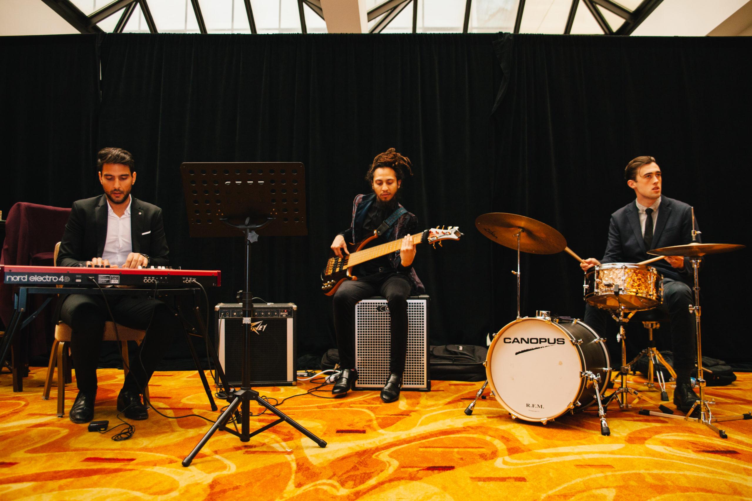 Banda en la Gala 2019