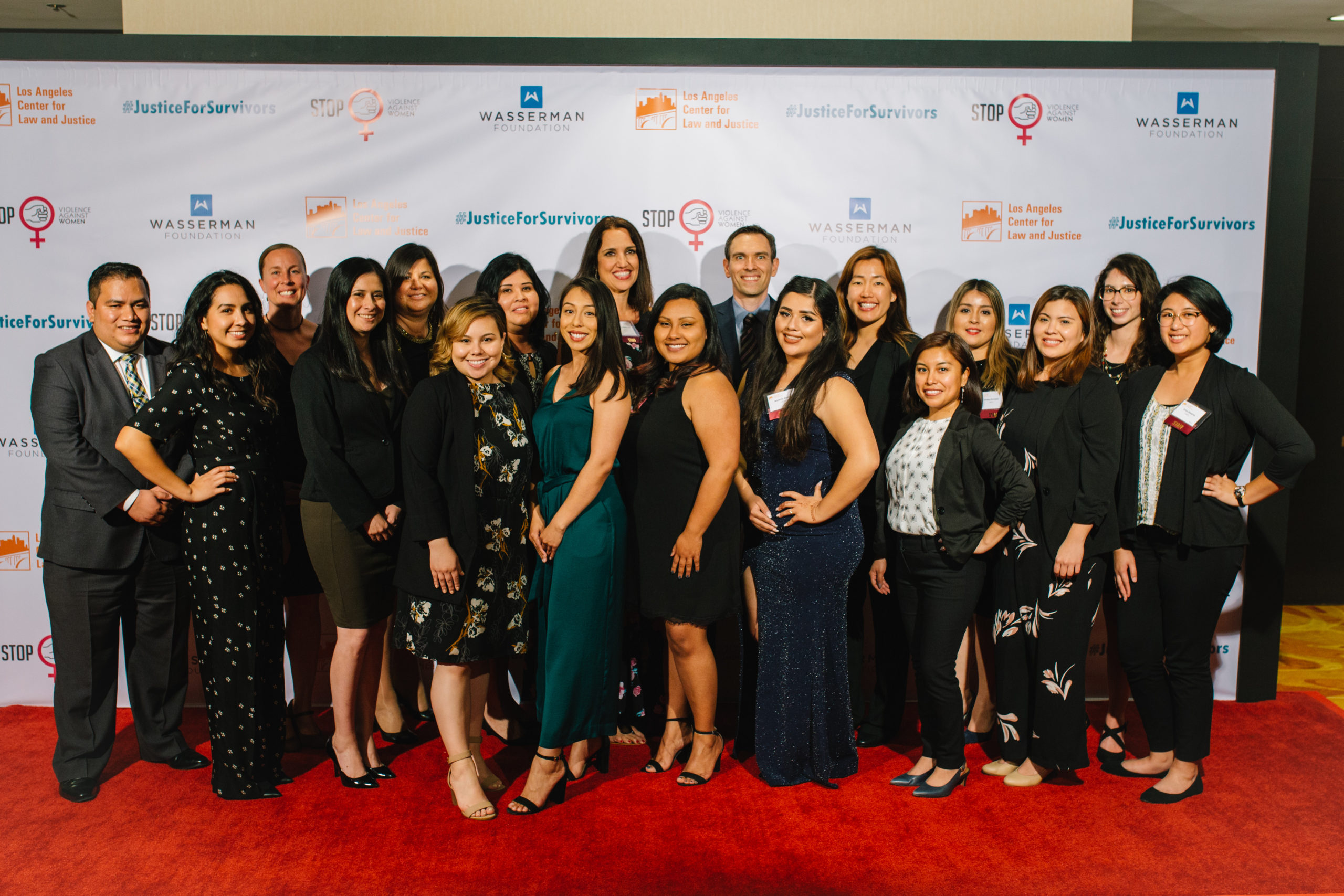 LACLJ Staff at 2019 Gala